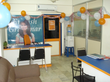Victory spoken english OFFICE DECORATED ON THE ANNIVERSARY DAY